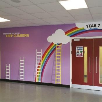 Large Print Wallpaper Schools