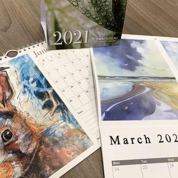 Digital print calendars